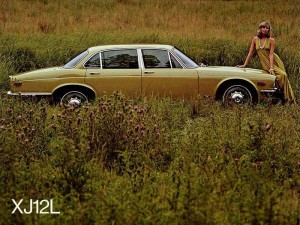 Jaguar XJ12L - document d'époque