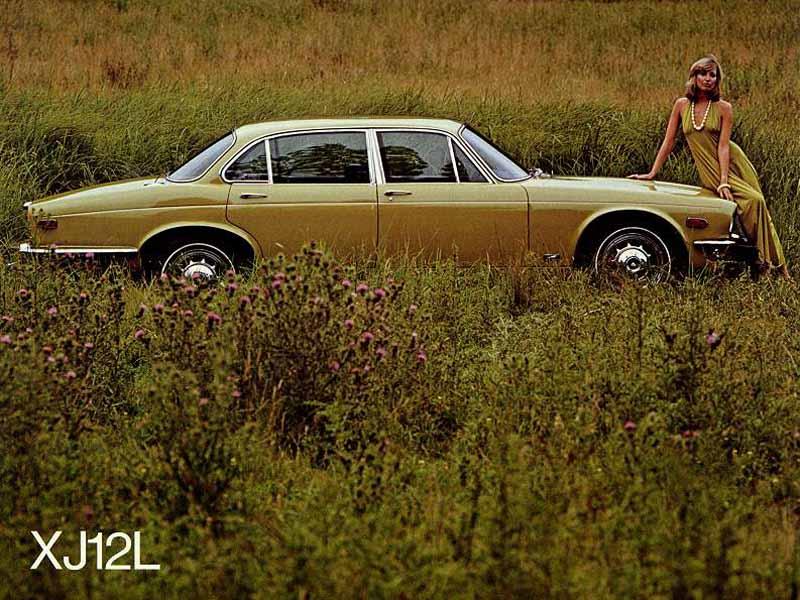 Jaguar XJ12L - document d'époque