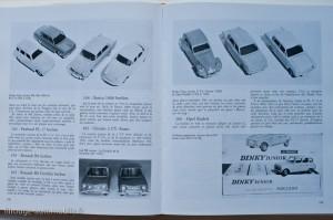 Les séries 100 dans Les  Dinky Toys  - Jean-Michel Roulet - éditions EPA