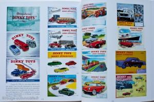 une page dans Les  Dinky Toys  - Jean-Michel Roulet - éditions Atlas