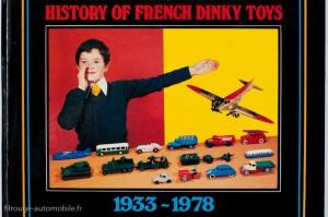 Les  Dinky Toys  - Jean-Michel Roulet - éditions Adepte