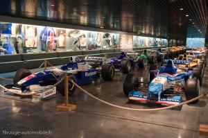 Manoir de l'automobile de Lohéac - salle des F1