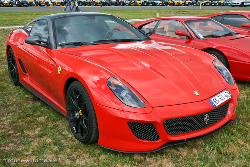une voiture une miniature ferrari 599 gto filrouge automobile. Black Bedroom Furniture Sets. Home Design Ideas