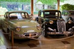 Panhard PL17 & Citroën Traction - Manoir de l'automobile