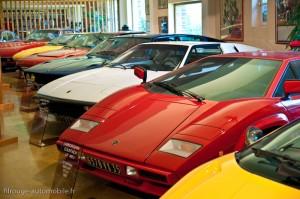 Manoir de l'automobile - les Lamborghini