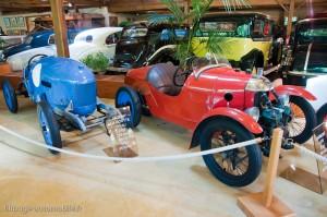Manoir de l'automobile de Lohéac - Antony la Goutte d'Eau & Darmont STR