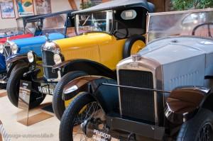 Peugeot et Citroën années 1920 - Manoir de l'automobile