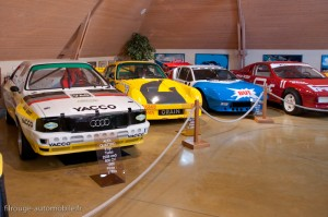 Manoir de l'automobile - Salle du rallye