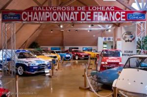Le Rallycross de Lohéac au Manoir de l'automobile