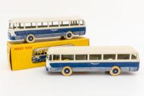 Dinky Toys 29F et 571 - Chausson autocar avec jantes convexes et concaves