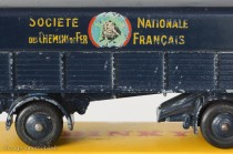 Dinky Toys 32AB - Panhard semi-remorque SNCF - Graphisme 1er type