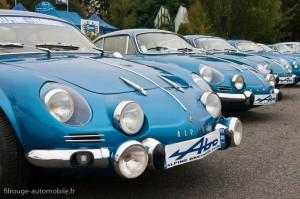 Alpine A110 Berlinette - Autobrocante Lohéac 2012