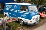 Estafette aux couleurs Alpine Renault - Autobrocante Lohéac 2012