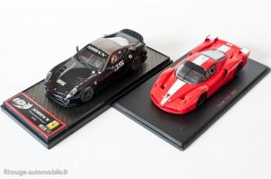 Ferrari 599 XX et Ferrari FXX au 1/43ème