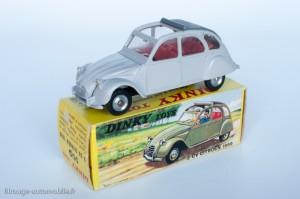 Dinky Toys 500 - Citroën 2CV 1966 - fabriqué en Espagne
