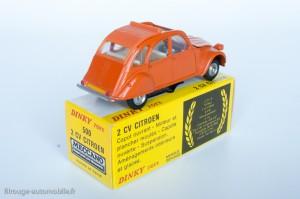 Dinky Toys 500 - Citroën 2CV6 1974 - fabriqué en Espagne