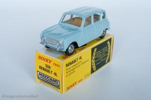 Dinky Toys 518 - Renault 4L - fabriqué en Espagne