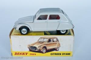 Dinky Toys 1413 - Citroën Dyane - modèle fabriqué en Espagne