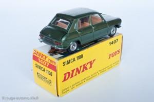 Dinky Toys 1407 - Simca 1100 berline - modèle fabriqué en Espagne