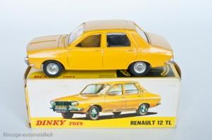 Dinky Toys 1424 - Renault R12 TL - modèle fabriqué en Espagne