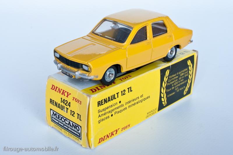 Dinky Toys réf. 1424 - Renault 12 TL- 2ème version espagnole