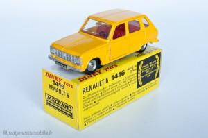 Dinky Toys 1416 - Renault 6 berline - modèle fabriqué en Espagne