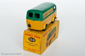 "Dinky Toys 25B - Peugeot D3A ""Lampe Mazda"""