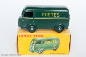 "Dinky Toys 25BV - Peugeot D3A ""Postes"" - Lettres au tampon"