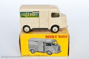 "Dinky Toys 25CG - Citroën H 1200kg ""Ch. Gervais"""
