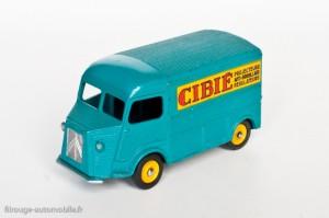 """Dinky Toys 561 - Citroën H 1200kg """"Cibié"""" - jantes concaves"""