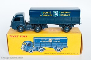 Dinky Toys 32AB - Panhard semi-remorque SNCF -
