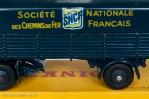 Dinky Toys 32AB - Panhard semi-remorque SNCF - Graphisme 2ème type