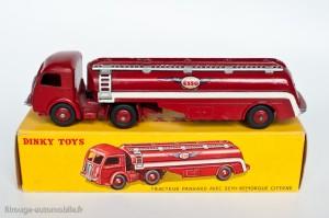 Dinky Toys 32C - Panhard semi-citerne Esso - petites ailes