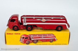 Dinky Toys 32C - Panhard semi-citerne Esso - Grandes ailes