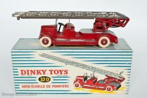 Dinky Toys 32D - Delahaye pompier