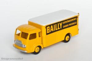 Dinky Toys 33AJ - Simca Cargo fourgon Bailly déménagement