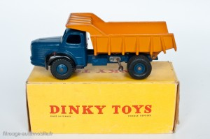Dinky Toys 34A - Berliet benne carrière - 1ère boite