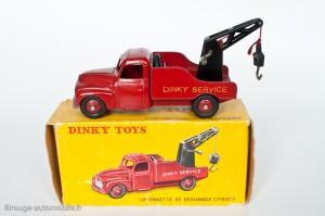 Dinky Toys 35A - Citroën U23 camion de dépannage - 1ère version grande caisse à outil