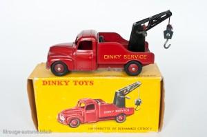 Dinky Toys 35A - Citroën U23 camion de dépannage - 2ème version petite caisse à outil