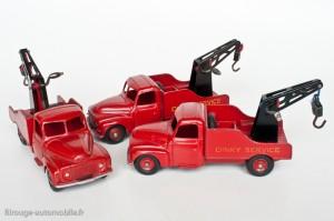 Dinky Toys 35A - Citroën U23 camion de dépannage - les 3 versions