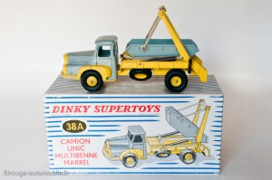 Dinky Toys 38A - Unic Izoard multibenne Marrel - 1ère version