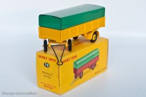 Dinky Toys 70 - Remorque bâchée 4 roues