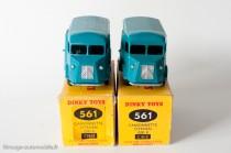 """Dinky Toys 561 - Citroën H 1200kg """"Cibié"""" - boite avec sur-étiquette et imprimée"""