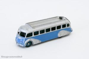 Dinky Toys 29E - Isobloc autocar - ailes en relief et toit lisse