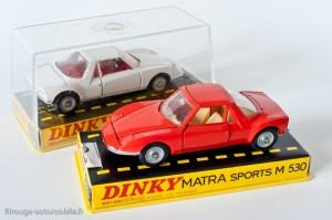 Matra sports M530 - Dinky Toys réf. 1403 - les 2 versions