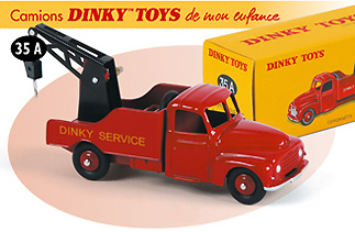 collection camions dinky toys de mon enfance par les editions atlas filrouge automobile. Black Bedroom Furniture Sets. Home Design Ideas