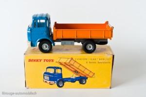 Dinky Toys réf. 585 - Berliet GAK benne