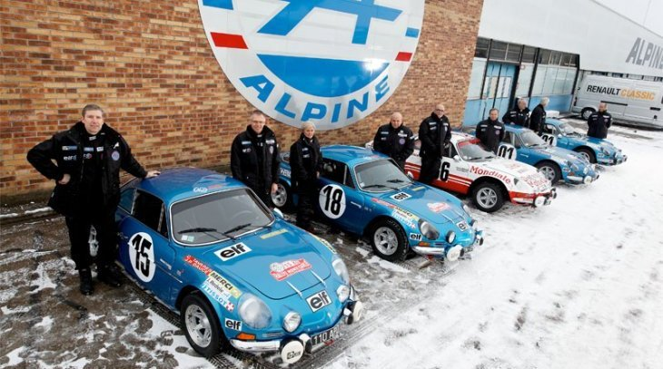 Alpine-Renault, 40 ans plus tard - Photo Renault
