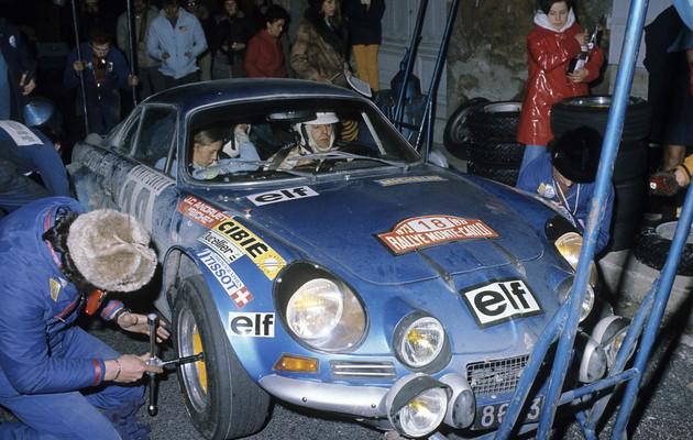 Alpine-Renault 1ère Monte Carlo 1973 - Photo FIA