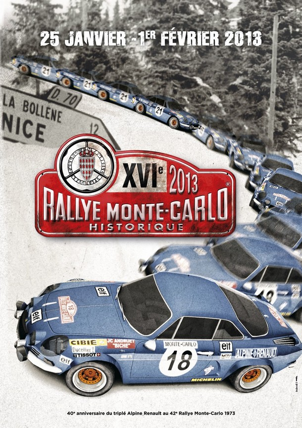 Affiche Monte-Carlo Historique 2013